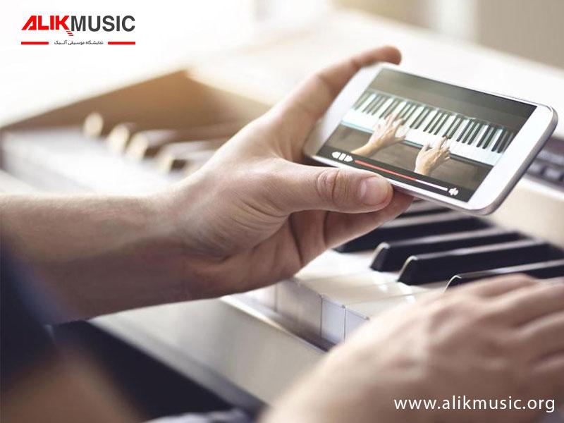 آموزش پیانو در منزل