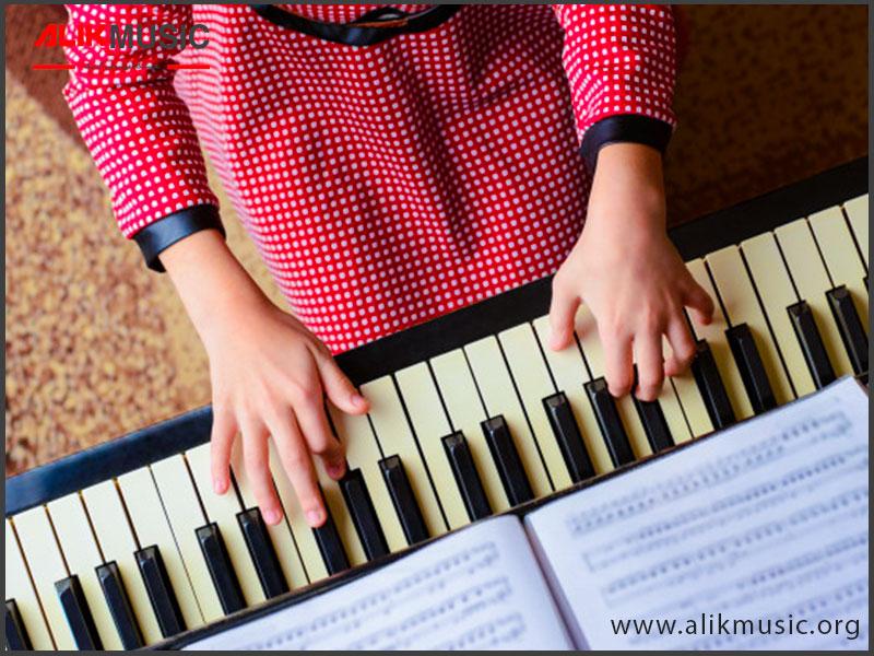 الفبای یادگیری پیانو