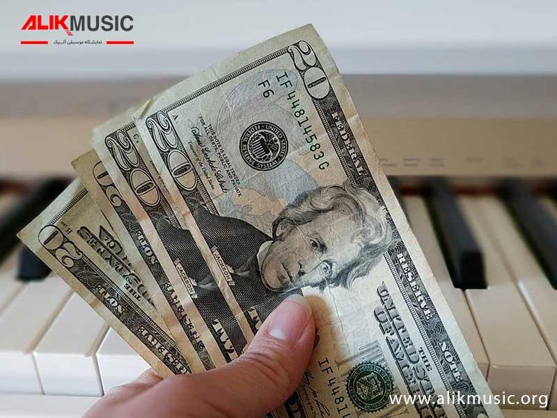 تعیین قیمت پیانو دست دوم