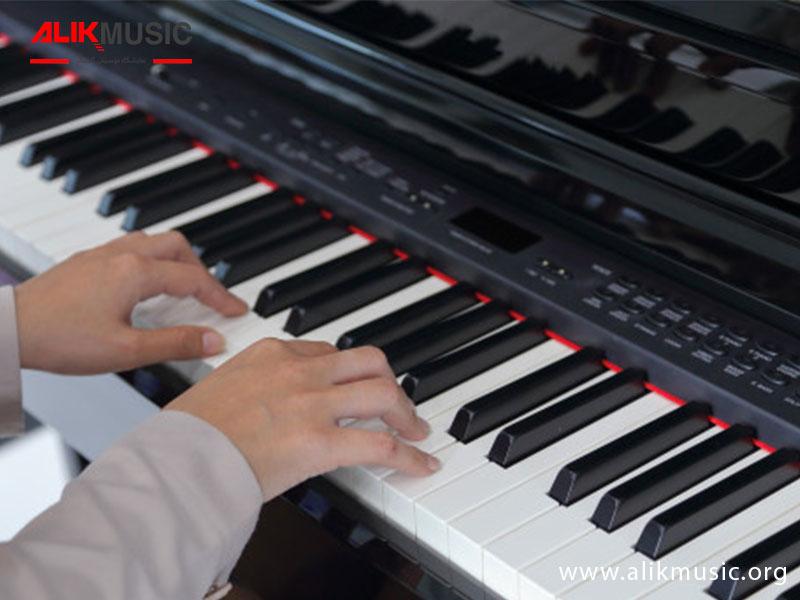 عمر پیانو دیجیتال