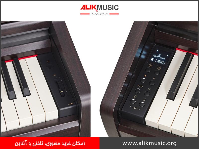 مشخصات CA 49 R پیانو کاوایی