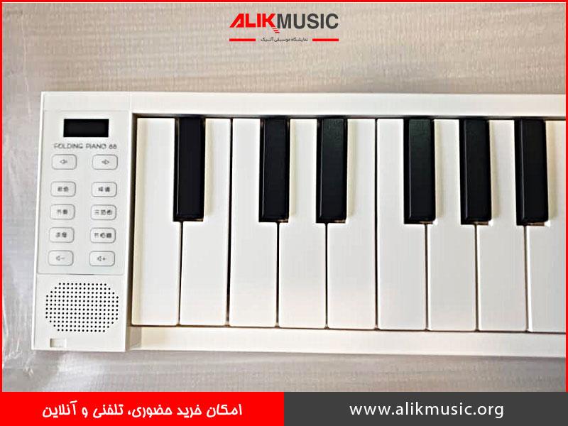 پیانو دیجیتال تاشو