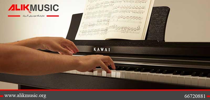 کیفیت تاچ پیانو دیجیتال کاوایی cn17