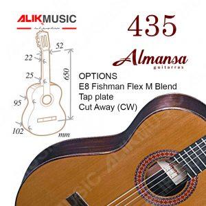 گیتار آلمانزا 435
