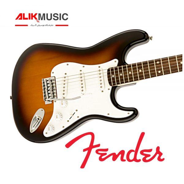 گیتار الکتریک فندر مدل Squier Affinity Stratocaster Brown Sunburst