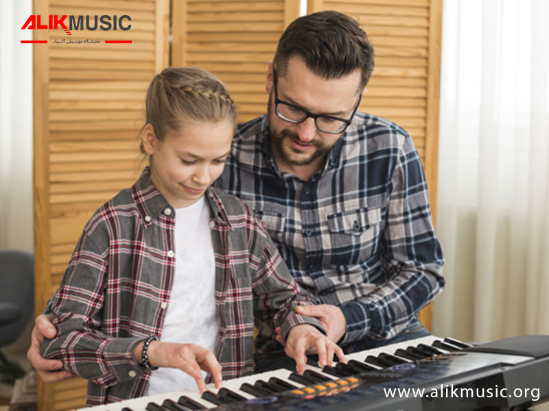 یادگیری پیانو با کیبورد