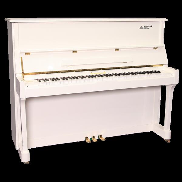 پیانو برگمولر ACOUSTIC UP123-WH