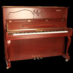 پیانو برگمولر ACOUSTIC UP126-WNM
