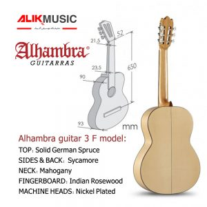 Alhambra guitar 3 F