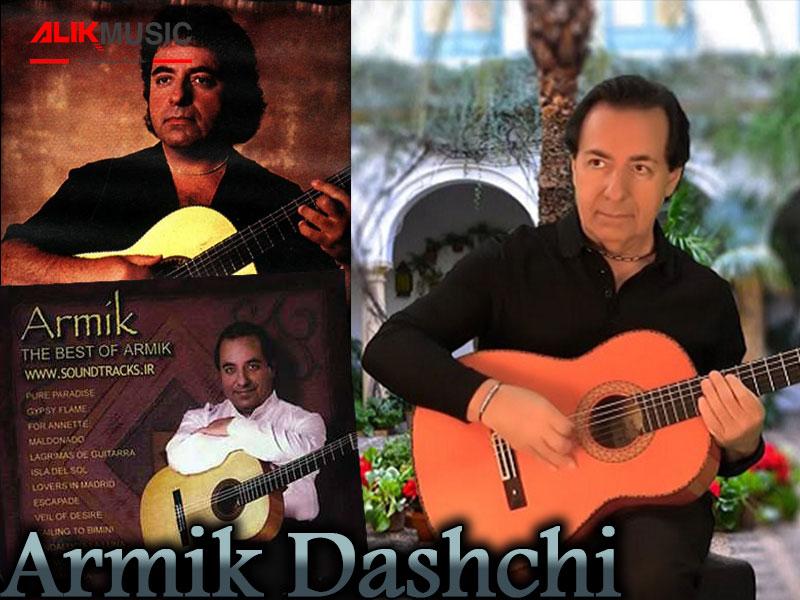 استاد آرمیک بهترین گیتاریست فلامنکو ایرانی است