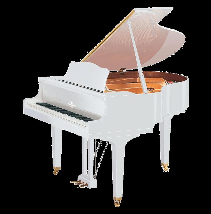 پیانو برگمولر GRAND GP160-WH
