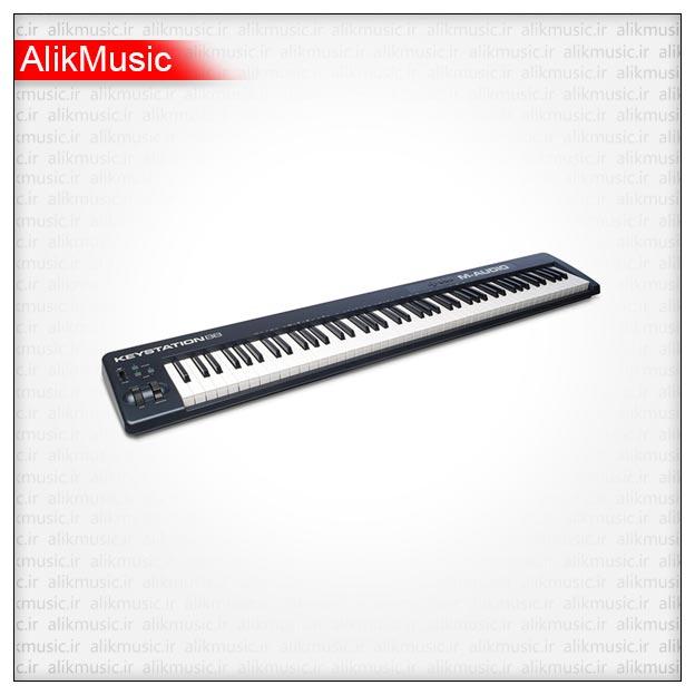 میدی کیبورد M-AUDIO مدل KEYSTATION 88 MK2