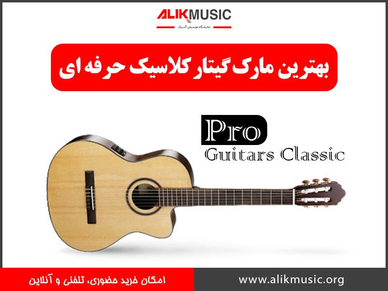 گیتار کلاسیک حرفه ای
