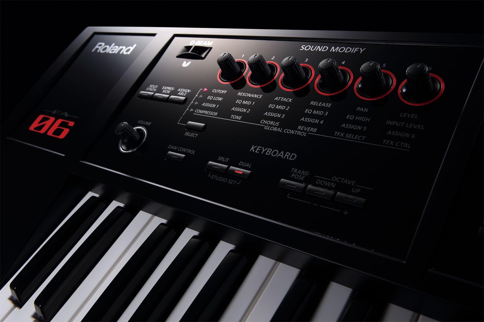 سینتی سایزر Roland FA06