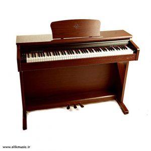 پیانو برگمولر قهوه ای DIJITAL BM100