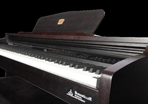 پیانو برگمولر DIGITAL BM600-BK