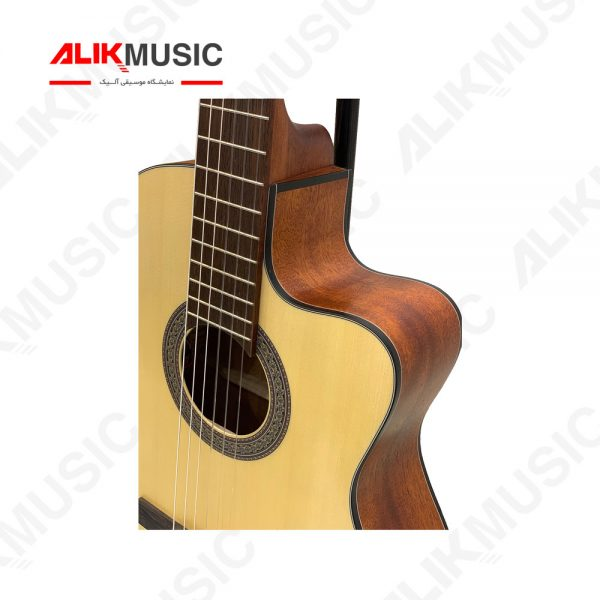 گیتار کلاسیک کورت AC120ce سیم ها
