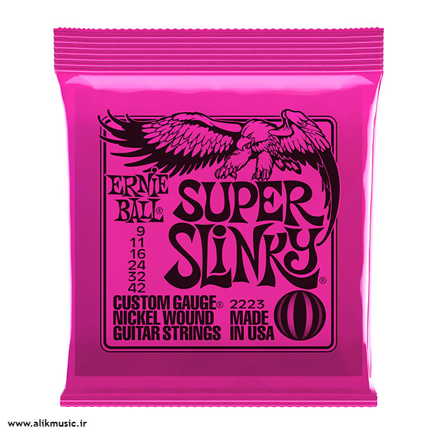 )Ernie Ball m-steel super slinery
