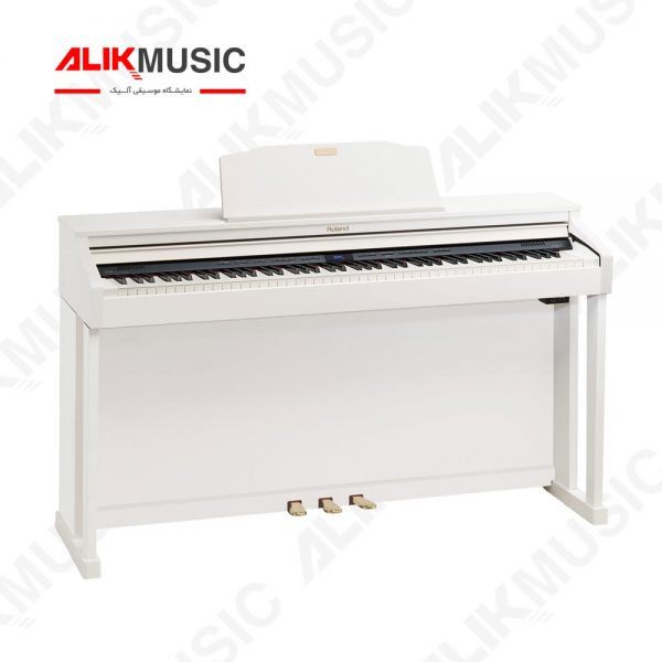 قیمت خرید پیانو دیجیتال رولند مدل HP504 - WH
