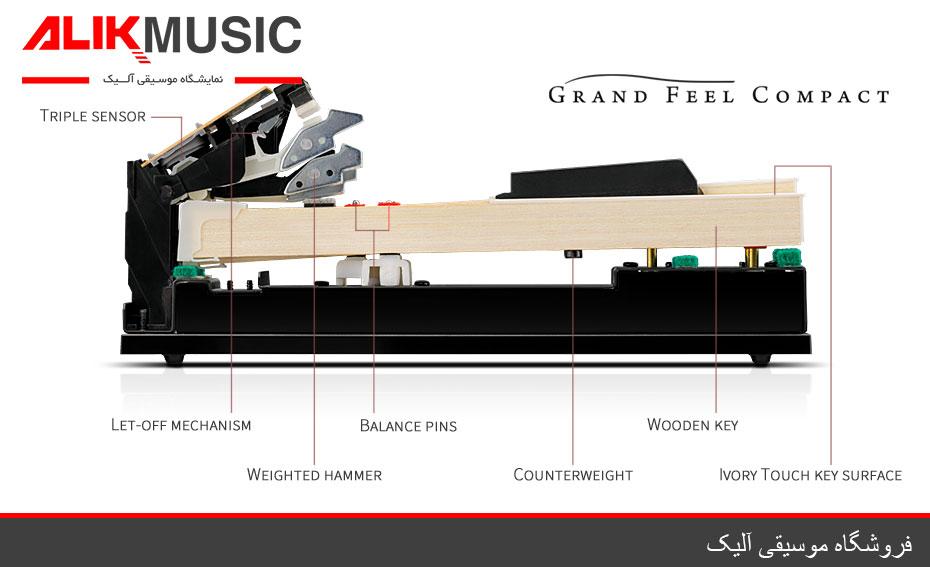 کلاویه های پیانو دیجیتال کاوایی