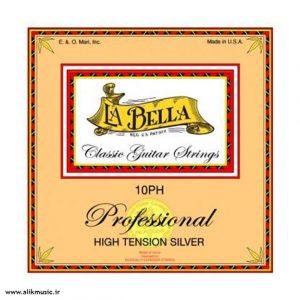 الیک موزیک سیم گیتار کلاسیک La Bella 10 ph