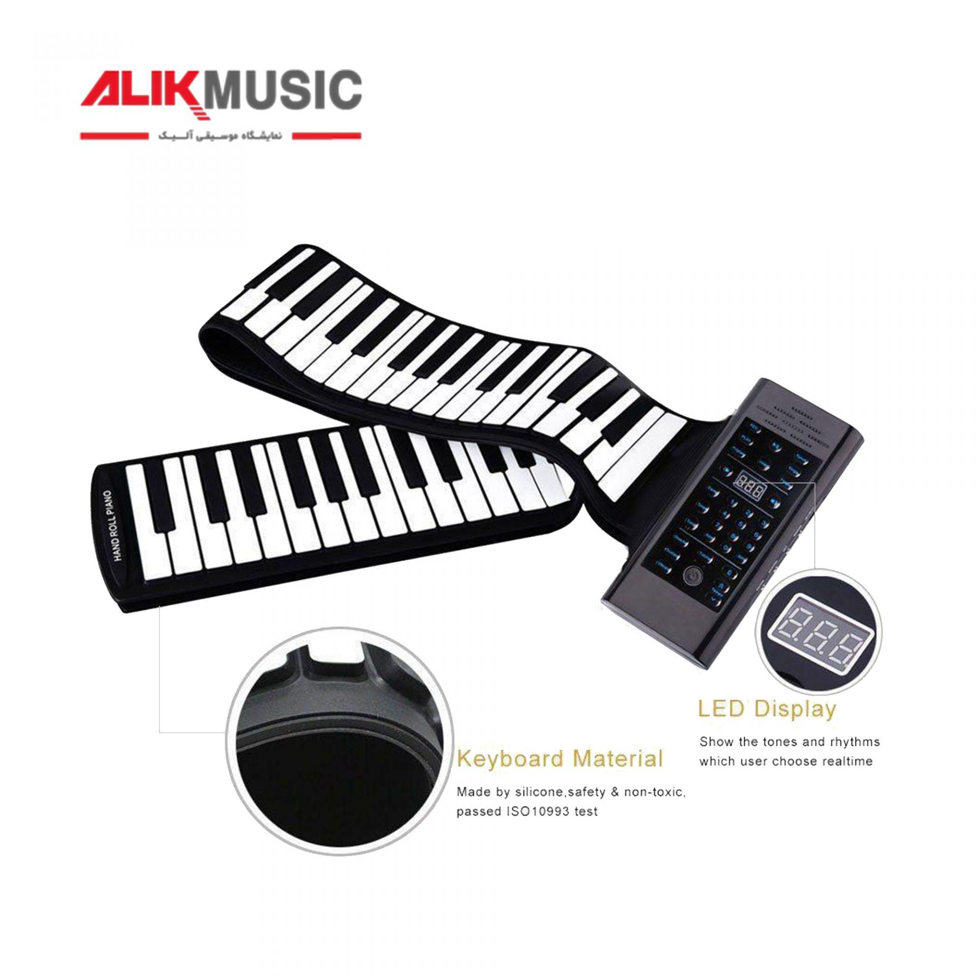 پیانو دیجیتال رولی 5 اکتاو