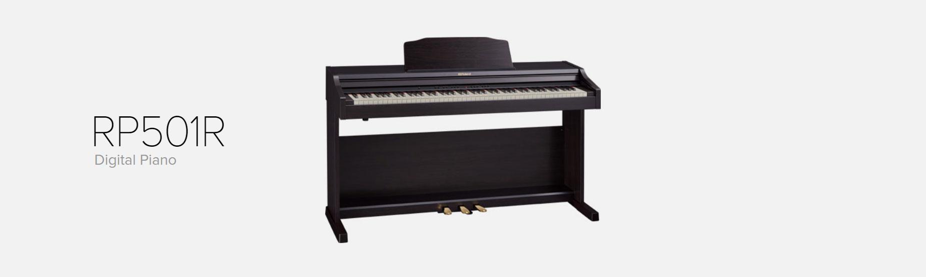 پیانو دیجیتال رولند مدل RP501
