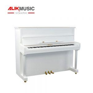 قیمت خرید پیانو بنتلی مدل B1-120 رنگ سفید پولیش